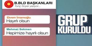 Büyükşehir belediye başkanları WhatsApp grubu kuruldu