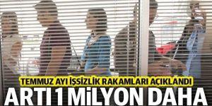 İşsizler ordusuna bir milyon kişi daha eklendi!