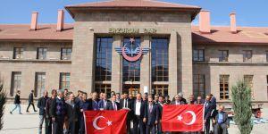 TCDD çalışanlarından 'Barış Pınarı Harekatı'na destek