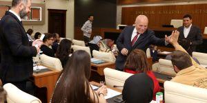 Erzurum'un genç beyinleri Başkan Sekmen'e konuk oldu