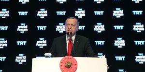 Erdoğan: Hiçbir zaman terör örgütüyle masaya oturmadık ve oturmayacağız