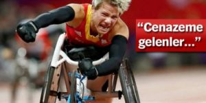 Paralimpik atlet Marieke Vervoort ötenazi ile hayatına son verdi