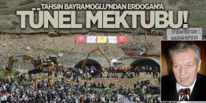 Bayramoğlu'ndan Erdoğan'a tünel mektubu