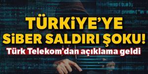 Türkiye'ye siber saldırı şoku