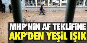 Ömer Çelik'ten MHP'nin af teklifine yeşil ışık