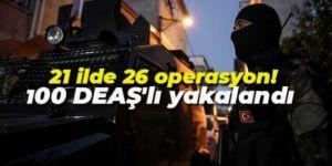 Emniyet Genel Müdürü Aktaş'dan DEAŞ açıklaması: 100 kişi yakalandı