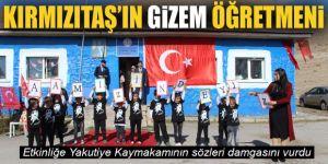 Türkiye Kırmızıtaş'ın Gizem öğretmenini konuşuyor!