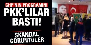CHP'nin İsviçre'deki programını PKK yandaşları bastı!