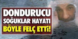 Doğu Anadolu'da soğuk hava etkisini artırdı