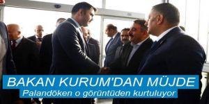 Bakan Kurum'dan marketler mevkiine dönüşüm projesi müjdesi