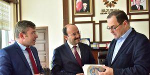 Janjgava, ETÜ Rektörü Prof. Dr. Bülent Çakmak' ı ziyaret etti