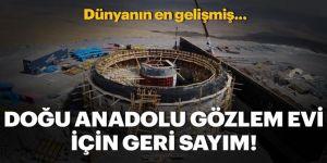 """Bilim dünyasının göz bebeği Doğu Anadolu Gözlemevi """"kara kış""""ı bekliyor"""