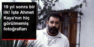 19 yıl önce hayatını kaybeden Ahmet Kaya'nın hiç yayınlanmamış fotoğrafları ortaya çıktı