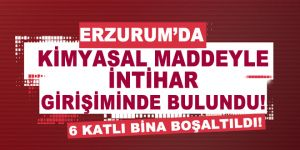 Erzurum'da siyanür alarmı...17 kişi hastahanelik oldu