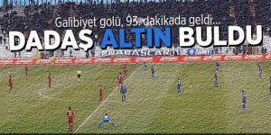 Erzurumspor son dakikada güldü