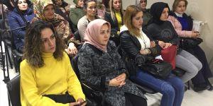 Erzurum'da kadına yönelik şiddete tepki gösterildi