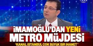 İmamoğlu Kanal İstanbul projesine karşı çıktı! 'En büyük ihanet'