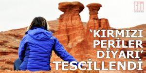 Erzurum'un Narman Peribacaları doğal sit alanı ilan edildi.