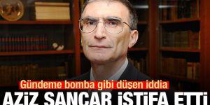 Gündeme bomba gibi düşen iddia! Aziz Sancar istifa etti
