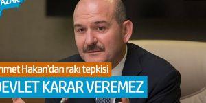 Ahmet Hakan'dan Soylu'ya rakı tepkisi!