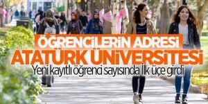 Atatürk Üniversitesi Öğrenci Sayısında İlk Üçe Girdi