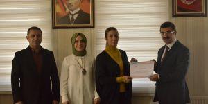 Erzurum'da başarılı kreşler ödüllendirildi