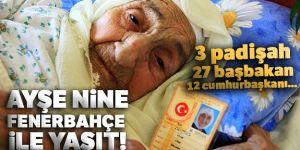 Türkiye'nin en yaşlı insanı Ayşe Uçar 113 yaşında hayatını kaybetti