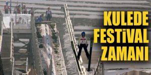 Erzurum'da kışa merhaba festivali
