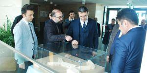 Bilkent Erzurum Okulları Erzurum Valisi Okay Memiş'i ağırladı