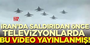 İran'da saldırıdan önce bu video yayınlanmış!