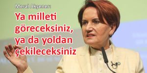 Meral Akşener'den Kanal İstanbul açıklaması: Buna geçit vermeyeceğiz