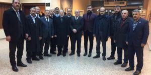 Aşkale Cumhur ittifakından Recep Akdağ'a ziyaret