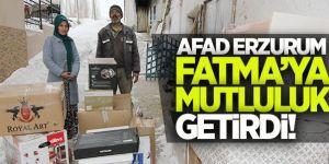 Fatma'nın Yüzünü AFAD Güldürdü