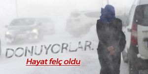 Doğu Anadolu'da dondurucu soğuklar etkisini sürdürüyor