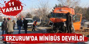 Erzurum'da makas terörü: 11 yaralı