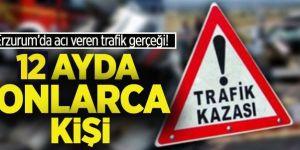 Erzurum'un 2019 trafik gerçeği!