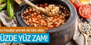 Türkiye'de kuru fasulye yemek de lüks oldu