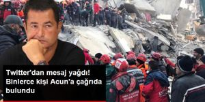 """Sosyal medya kullanıcıları, Acun Ilıcalı'ya """"Yardım kampanyası başlat"""" çağrısında bulundu"""