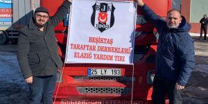 Beşiktaş Dernekleri'nden Elazığ'a 3806 battaniye