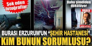 Erzurum'da Dev hastane şimdiden göçtü