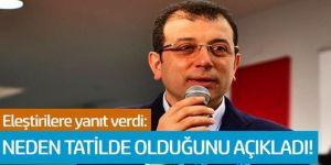 İmamoğlu'ndan 'Erzurum' eleştirilerine yanıt