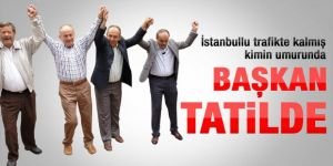 Kadir Topbaş'ın Artvin, Ekrem İmamoğlu'nun Erzurum tatili