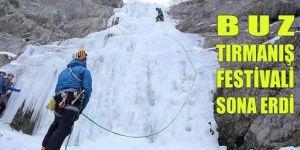 Erzurum'da tırmanış heyecanı tamamlandı