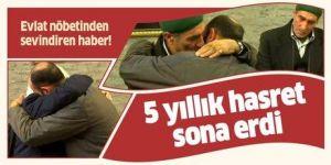 HDP önünde eylem yapan Erzurumlu aile evladına kavuştu