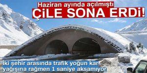 Erzurum  Rize yolu artık kapanmıyor