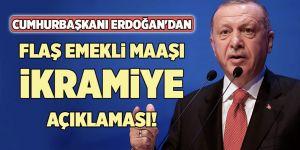 Erdoğan'dan 'emekli maaşında kesinti' iddiasına açıklama