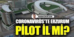 Coronavirüs'te Erzurum Pilot İl mi?