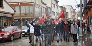 Pasinler İdlib Şehitleri için yürüdü