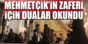 Mehmetçik için camilerde 'zafer' duası okundu
