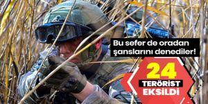 MSB: 24 PKK/YPG'li terörist etkisiz hale getirildi